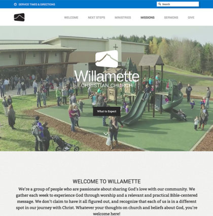 Willamette Church Website