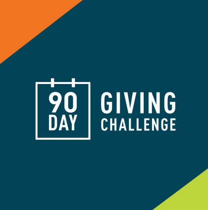 90 Day Giving Challenge